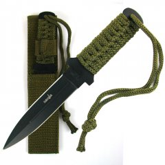 Stainless Steel Survival Knife w/ Case 6.875 inch