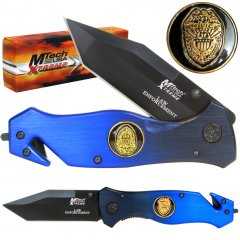 8 Inch Xtreme Law Enforcement Police Folding Pocket Knife