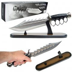 15 inch Triple Edged Fantasy Shark Knife